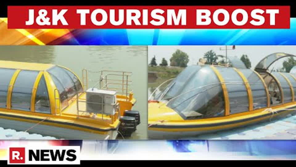 J&K Administration Plans To Revive River Transport, 3 Bus Boats Imported From New Zealand