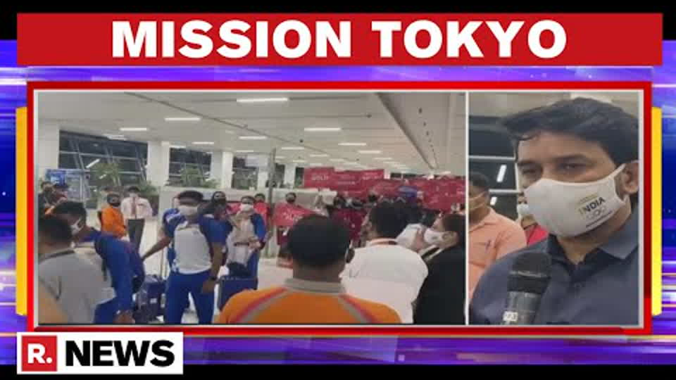 Olympics: 88-Member Indian Contingent Heads To Tokyo; Given Rousing Send-Off