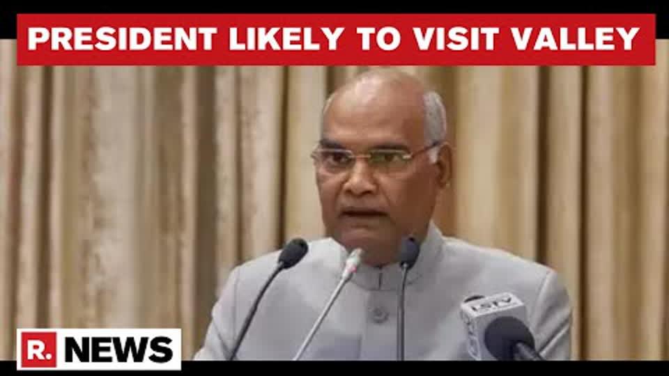 President Ram Nath Kovind Likely To Visit J&K On July 26 To Mark Kargil Vijay Diwas