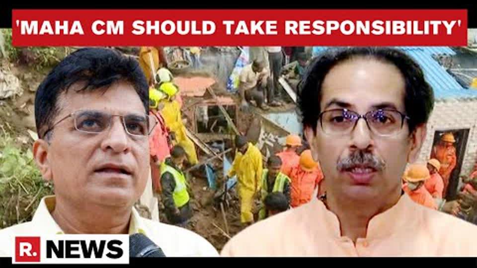 Wall Collapses In Mumbai: BJP's Kirit Somaiya Slams BMC & MVA Govt Over Incidents