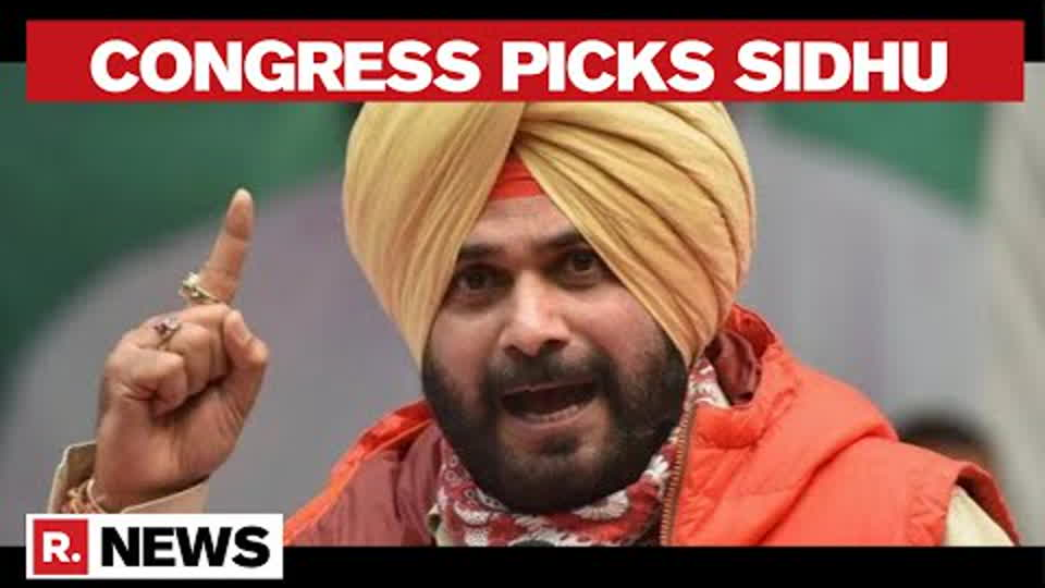 Navjot Sidhu Appointed Punjab Congress Chief After Days Of Speculation Amid Infighting