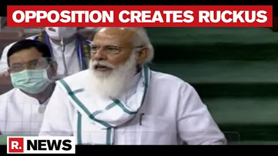 Opposition Heckles PM Modi As He Introduces New Cabinet Ministers | Parliament Monsoon Session