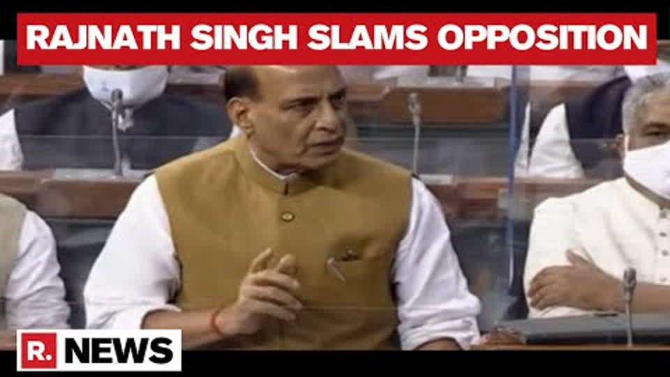 Rajnath Singh Slams Opposition MPs For Creating Ruckus When PM Modi Introduced New Ministers