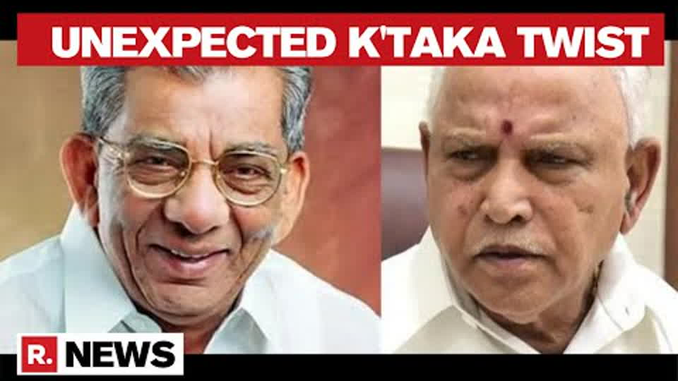 Karnataka: Another Congress MLA Reposes Faith In Yediyurappa As Ouster Prospect Looms