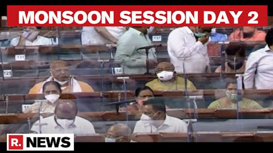 Parliament Monsoon Session: Second Day Of Monsoon Session Begins Today   Republic TV
