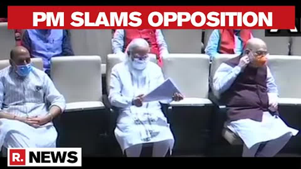PM Modi Slams Opposition In Parliamentary Meeting Over Negative Publicity, Calls It 'Unfortunate'