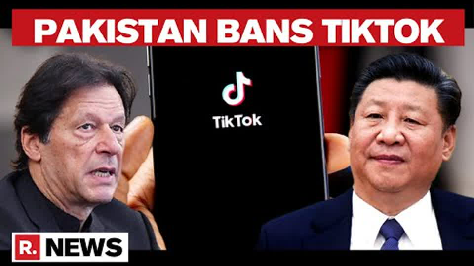 Pakistan Bans Chinese App Tiktok After Citing Inappropriate Content | Republic TV