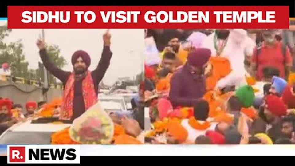 Punjab: Navjot Singh Sidhu Plans Visit To Golden Temple, Five Ministers Skip His Invitation