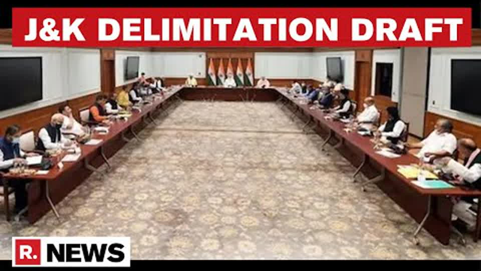 J&K: First Delimitation Draft Works Underway, Boost To SC/ST Communities   Republic TV