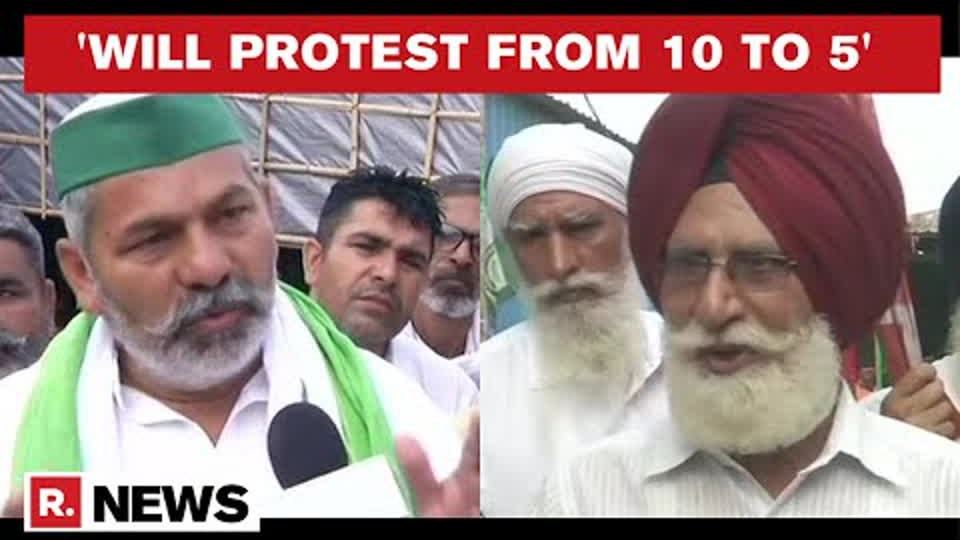Rakesh Tikait Shares Details Of Jantar Mantar Protest, Says 'Will Monitor Parliament Proceedings'