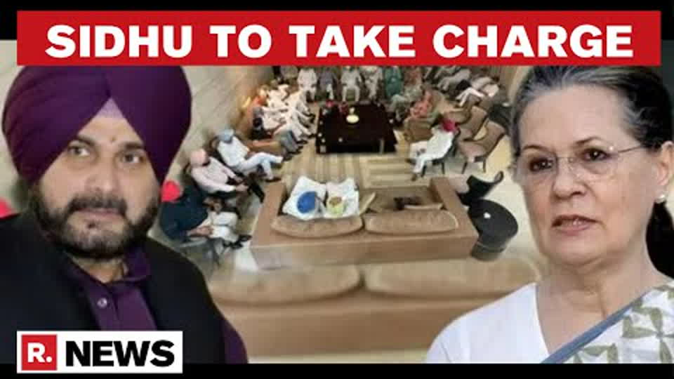 Sidhu To Take Charge As Punjab Congress Chief On July 23; Party Mum On CM's Apology Demand
