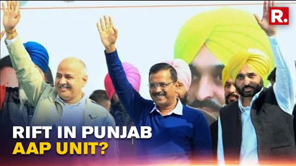 AAP Supporters Throw Weight Behind Bhagwant Mann For Punjab CM Face; Top Brass Silent | Republic TV
