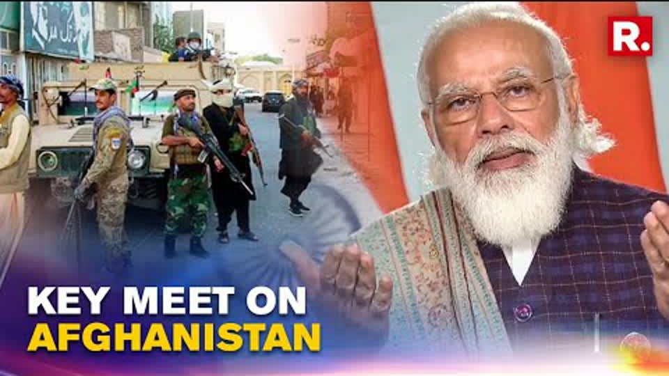 Centre Holds Key Meet On Afghanistan Crisis, PM Reviews Situation | Republic TV