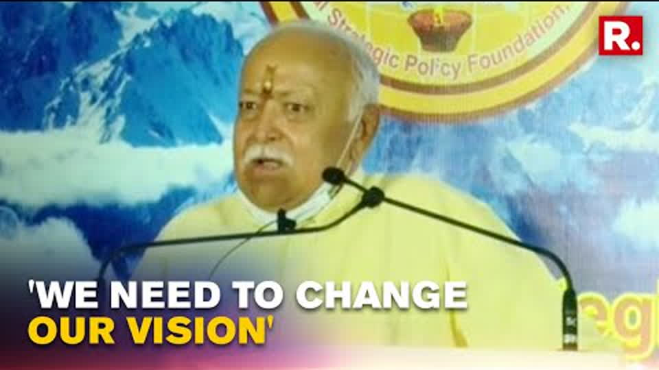 RSS Chief Mohan Bhagwat Blames British For Instigating Communal Disharmony In India