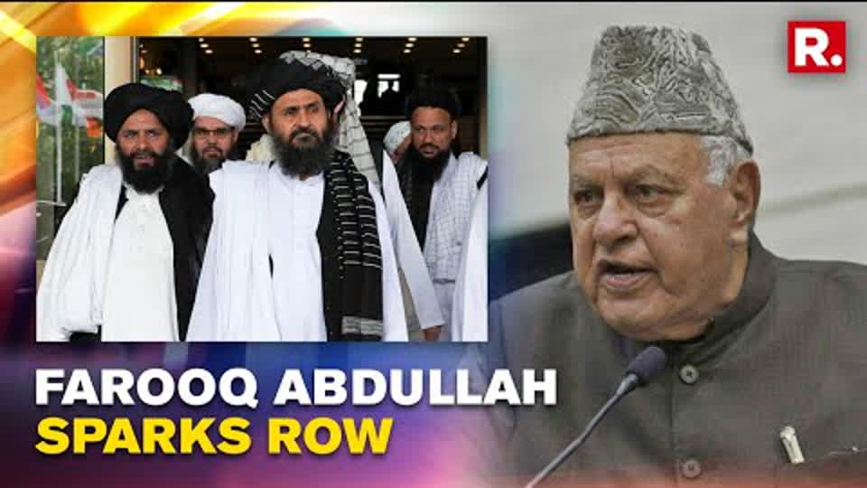 Farooq Abdullah Openly Bats For Taliban 'Government'; Urges Talks With Other Nations