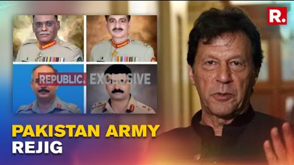 Massive Rejig In Pakistan Army Leadership As Taliban Announces New Government   Republic TV