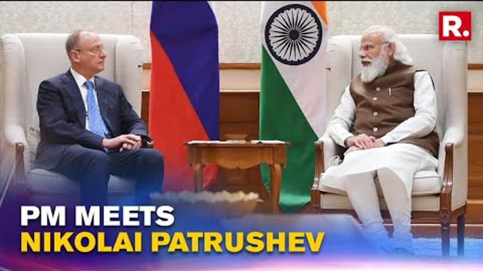 PM Modi Meets Russian NSA Nikolai Patrushev; Discusses Afghan Crisis, Regional Stability