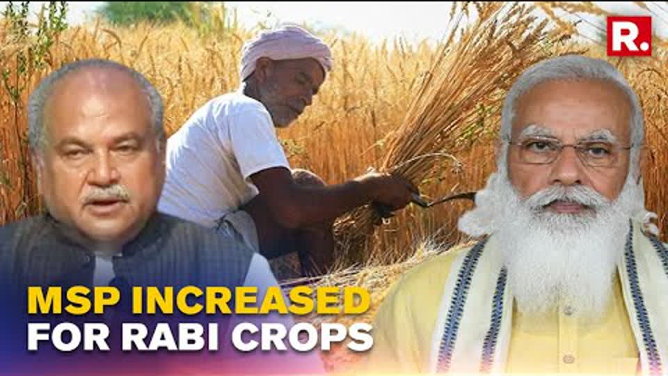 Union Minister Narendra Singh Tomar Speaks On Centre's Decision To Hike MSP Of 6 Rabi Crops
