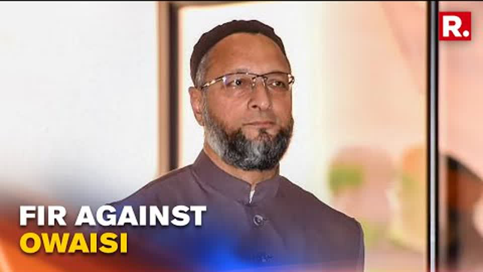 FIR Registered Against AIMIM Chief Asaduddin Owaisi For Flouting COVID Norms & Hate Speech
