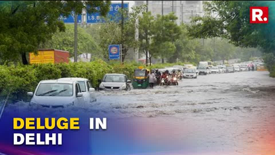 Delhi Rains: IMD Forecasts Moderate To Heavy Rainfall In National Capital, Adjoining Areas