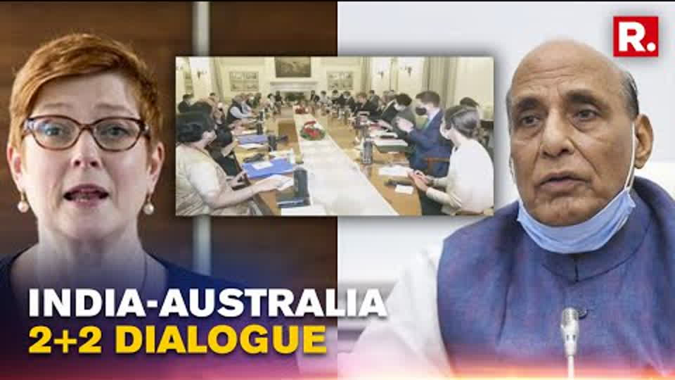 India & Australia Hold 2+2 Dialogue, Marise Payne Affirms 'Ties Reaching Historic Heights'