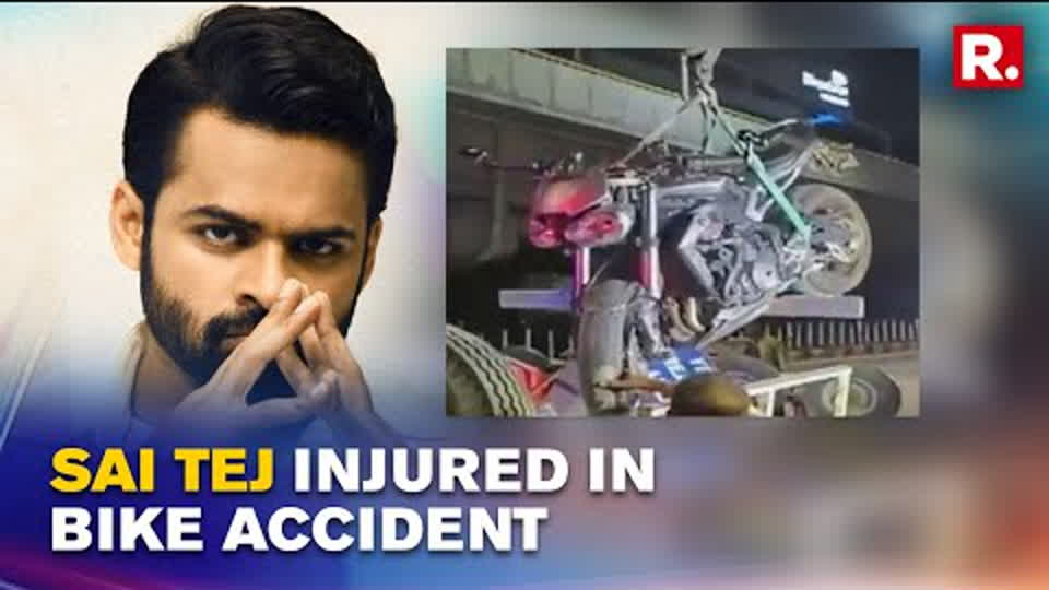 Tollywood Actor Sai Tej Meets With An Accident, Suffers Severe Injuries