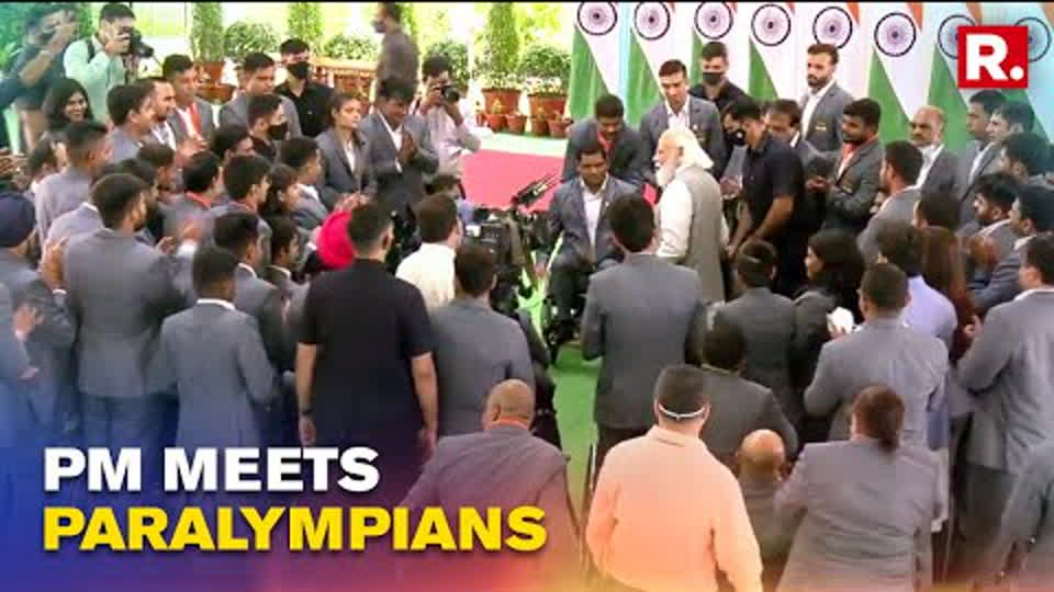 WATCH: PM Modi Shares A Glimpse Of His Interaction With India's Paralympic Heroes