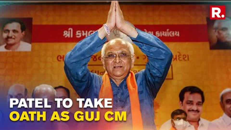 Bhupendra Patel Offers Prayers At Sai Baba Temple In Ahmedabad Ahead Of Oath-Taking Ceremony