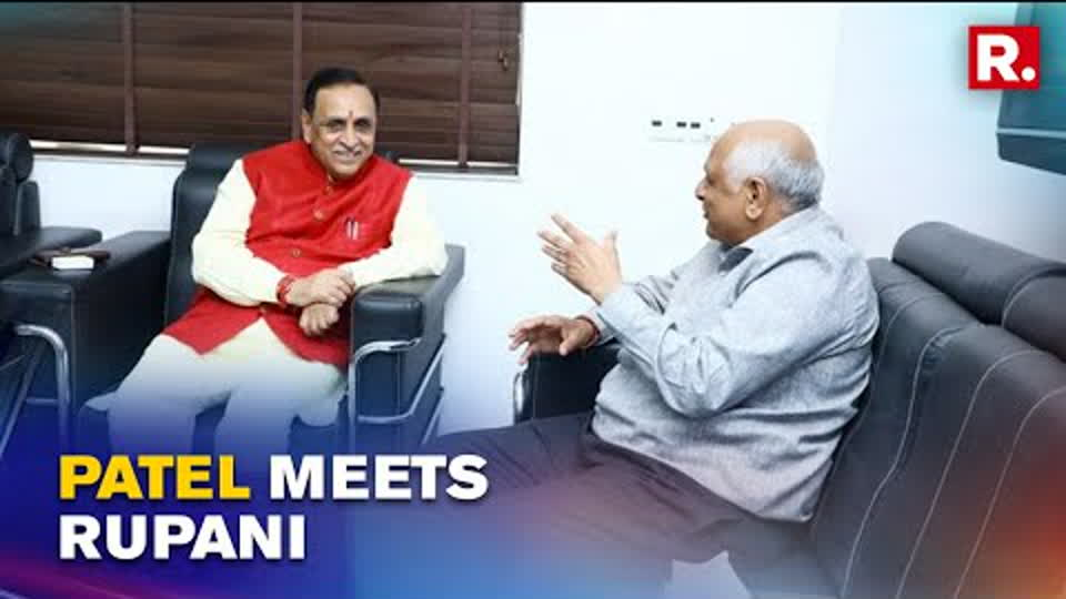 Gujarat CM-Designate Bhupendra Patel Meets Ex-CM Vijay Rupani Ahead Of Oath-Taking Ceremony
