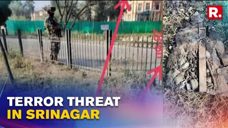 J&K: Five Grenades Found In Srinagar District, Bomb Disposal Squad Deployed   Republic TV