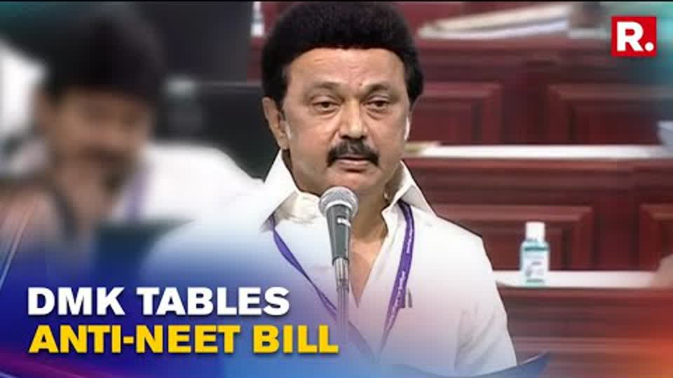 Tamil Nadu Govt Tables Bill To Exempt State From NEET Exam In Assembly, AIADMK Stages Walkout