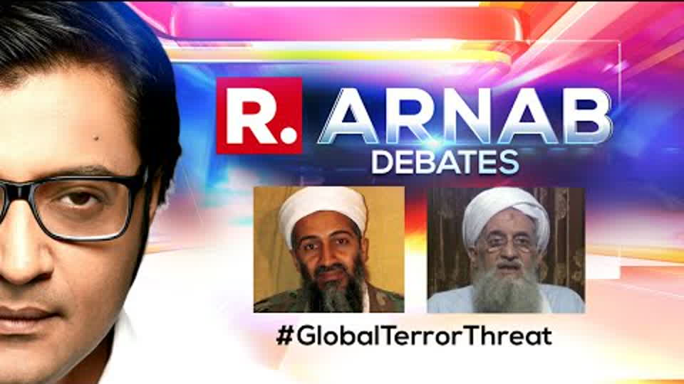 Al-Zawahiri Video Surfaces, Terror Threat Looms Over Re-Emergence Of Al-Qaeda |The Debate With Arnab