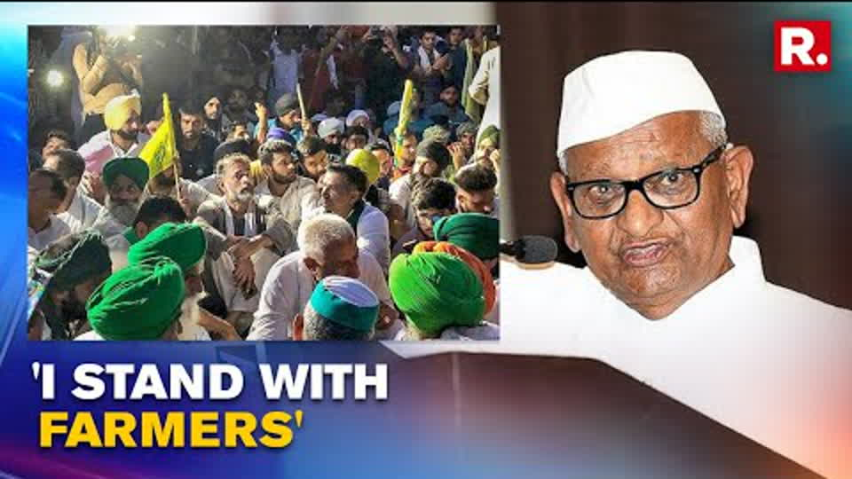 Anna Hazare Vows To Revive His Agitation Against Farm Laws; Assures To Join Farmers Soon