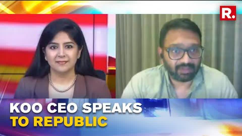 India's Homegrown App Koo CEO Aprameya Radhakrishna Speaks To Republic, Shares About Its Hindi Fest