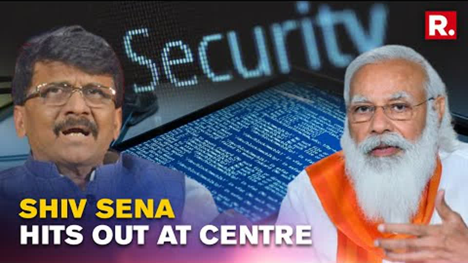 Pegasus Snoopgate Row: Shiv Sena Questions Centre Over Issue Of National Security