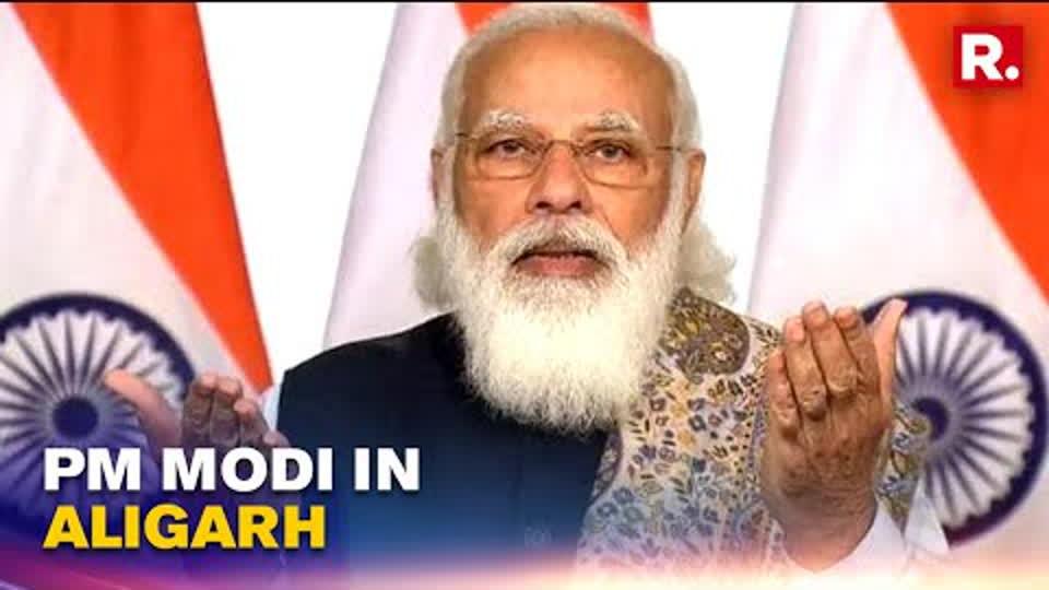 PM Modi In Aligarh, To Lay The Foundation Of Raja Mahendra Pratap Singh University | Republic TV