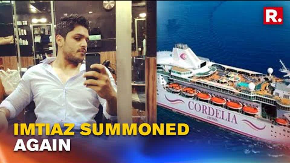 NCB summons Imtiaz Khatri for second time on Monday in Mumbai cruise drug bust probe