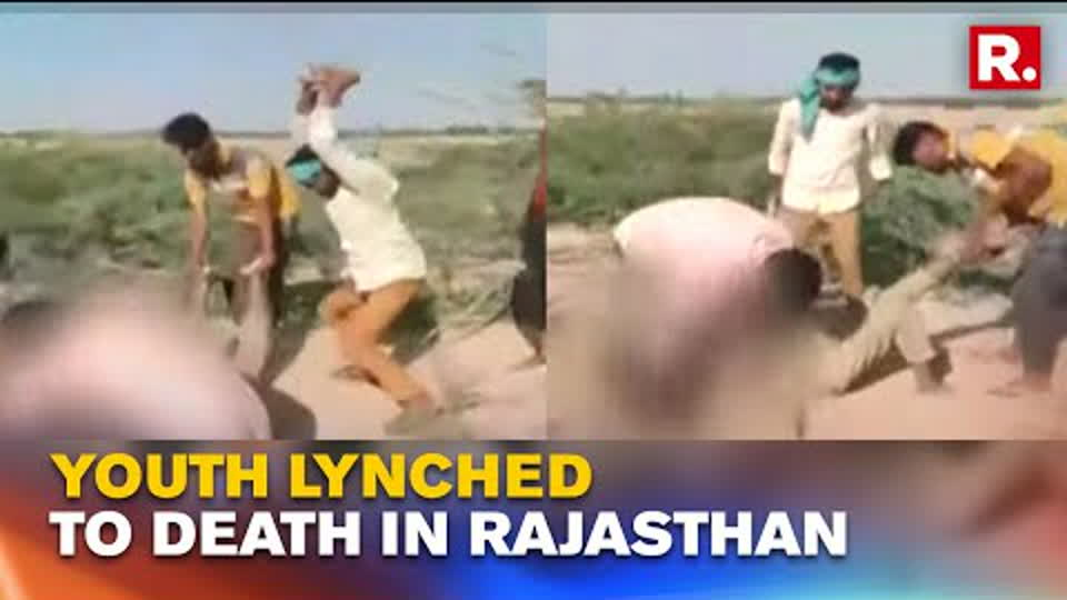 Rajasthan: Youth Lynched To Death By Mob of 5 Men Over Alleged 'Illicit Relationship'