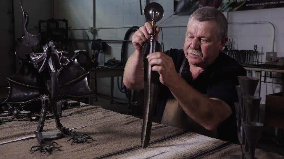 Blacksmithing - Martin Rheinhardt