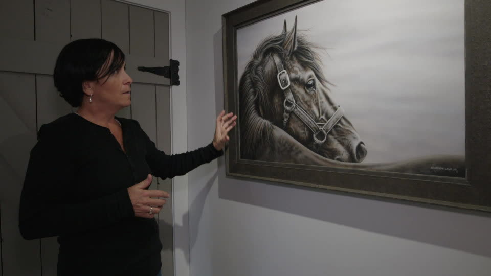 Painting Horses - Shannon Lawlor