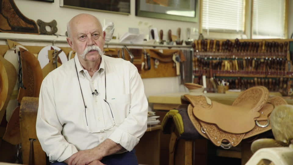 The Art of Saddle Making - Chuck Stormes