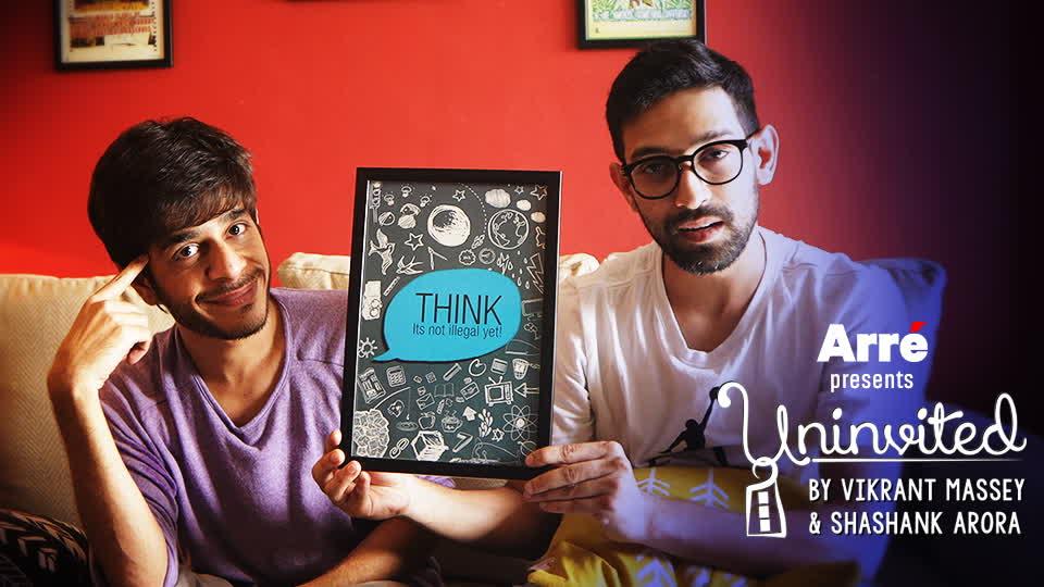 Uninvited by Vikrant Massey & Shashank Arora